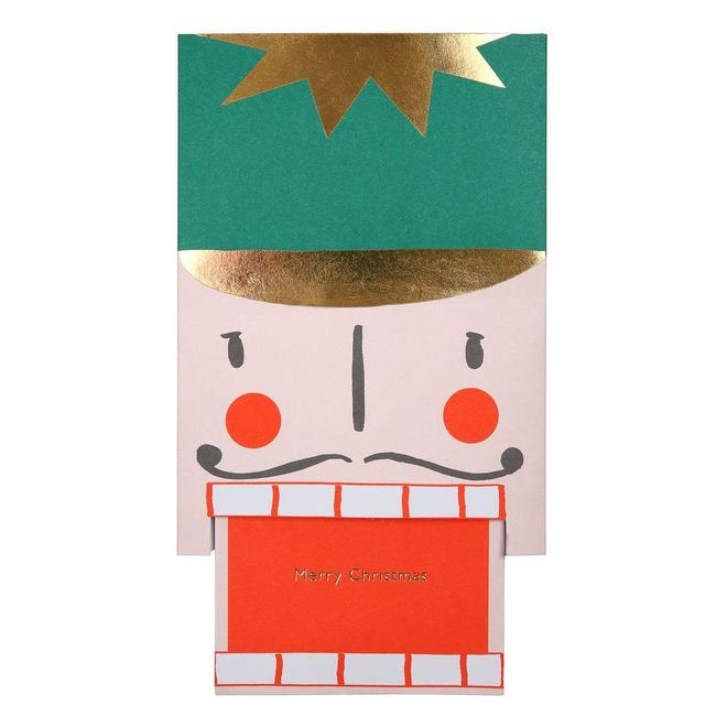 Nutcracker Head Card