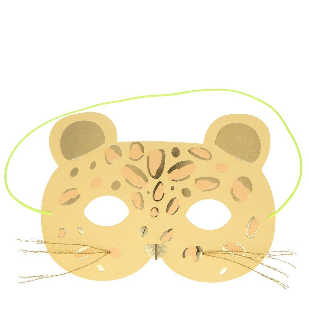 Leopard Mask Card