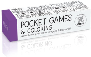 Magic pocket game for coloring
