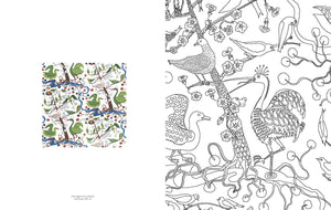 Swedish Modern: Estrid Ericson, Josef Frank, and Svenskt Tenn: A Coloring Book of Magical Interiors