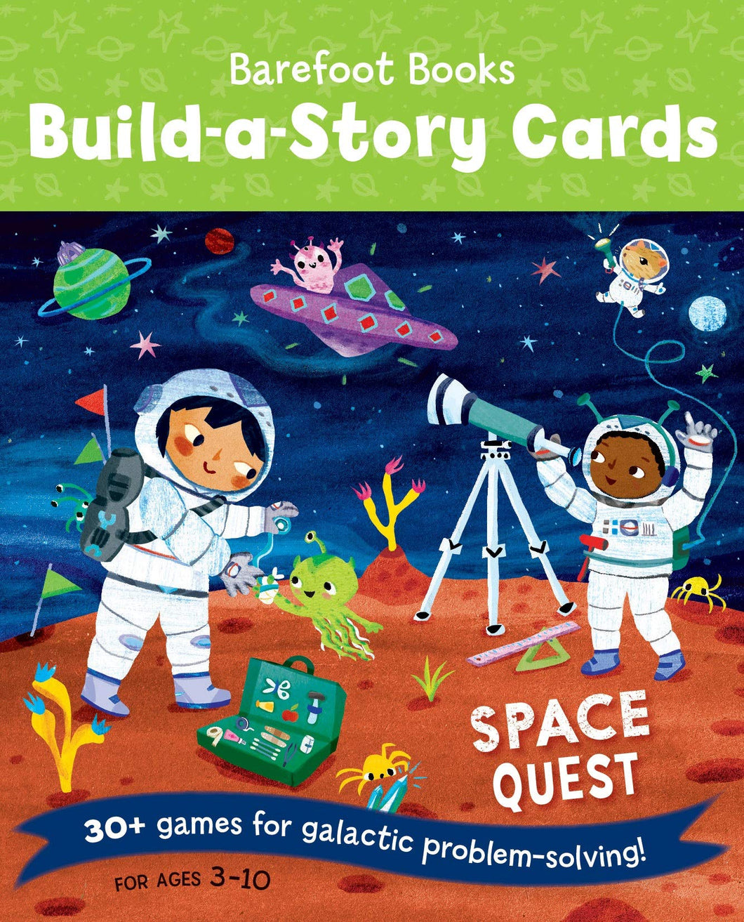 Space Quest Build a story Cards