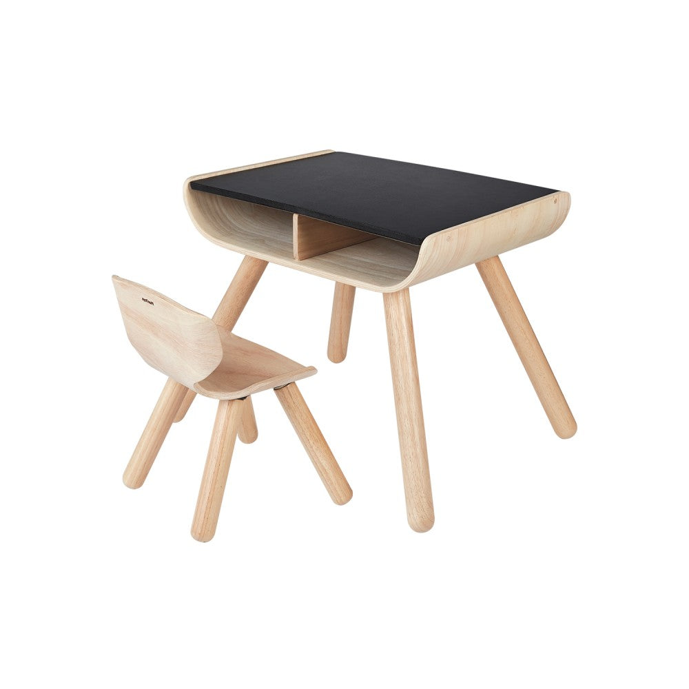 Table & Chair - Black