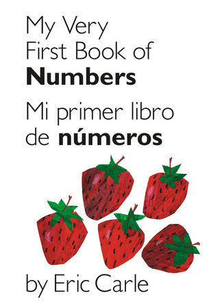 My Very First Book of Numbers Bilingual