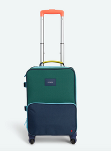 Mini Logan Suitcase Green/Navy