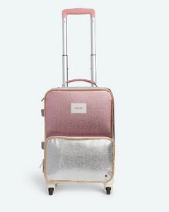 Mini Logan Suitcase Metallic Pink