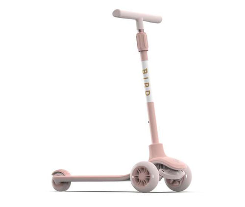 Birdie Kick Scooter for Kids, Electric Rose