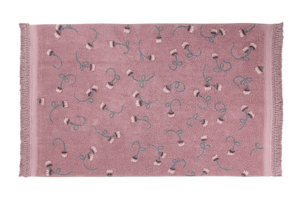 Alfombra Lavable English Garden Ash Rose