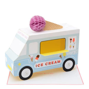 Ice Cream Van Stand-Up Card