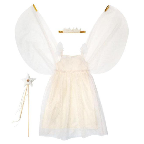 White Tulle Fairy Dress Up Kit (5-6 years)