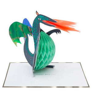 Honeycomb Dragon Stand-Up Card