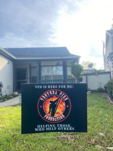 Ventura Fire Foundation Yard Sign