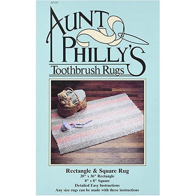 Aunt Phillys AP105 Toothbrush Rug Rectangle