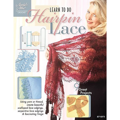 ANNIE'S 871072 Learn To Hairpin Lace