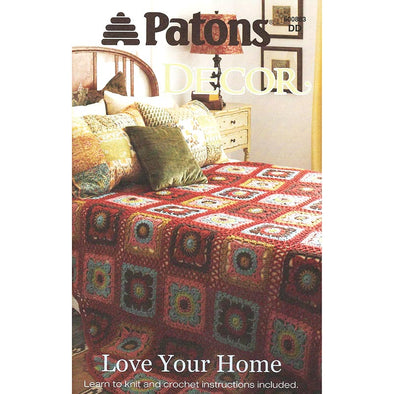 Patons 500883 Love Your Home Decor