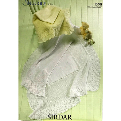 SIR1598 Snuggly 4P Shawl Baby