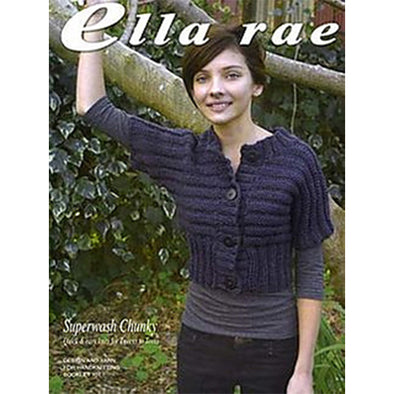 Ella Rae DB101 Superwash Chunky Cardigan