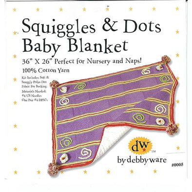 Debby Ware 005 Squiggles & Dots blanket