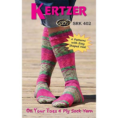 Kertzer 450 On Your Toes 4Ply
