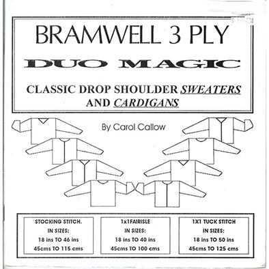 Bramwell 3PLY Knitting Machine Sweater and Cardigan