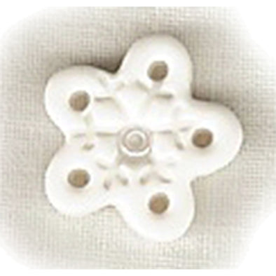 SB080M Snowflake White Medium