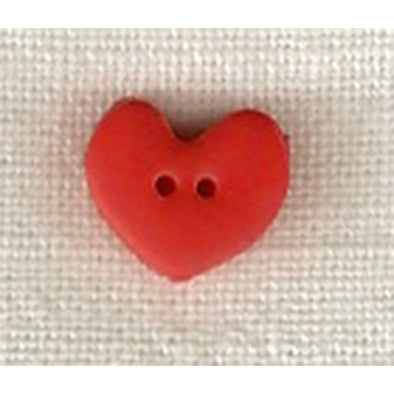 SB005S Heart  Small Red