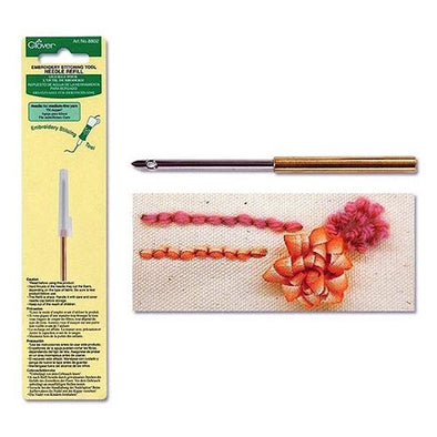 Clover 8802 Embroider Stitch Refill for Fine to Medium Yarn
