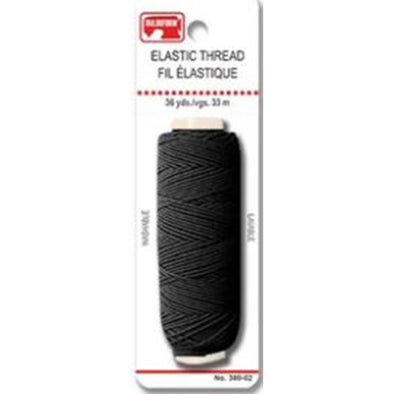 Unique Elastic Thread Black