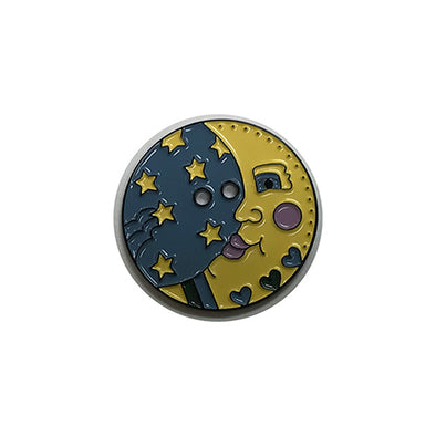 Shepherd's Bush Printworks  Button Moon - Metal