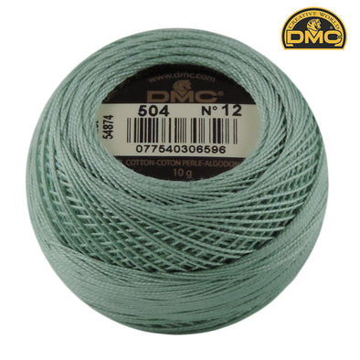Perle 12  504 Blue Green Lt Use 3813