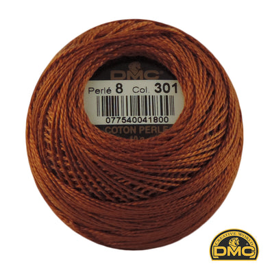 Perle 8  301 Brown