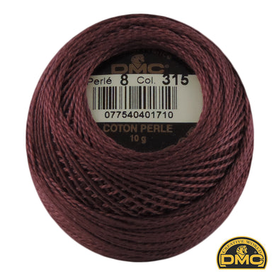Perle 8  315  Antique Mauve Vydk.
