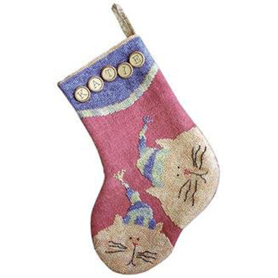 Sam Sarah Design 9029 Kitty Kitty Stocking