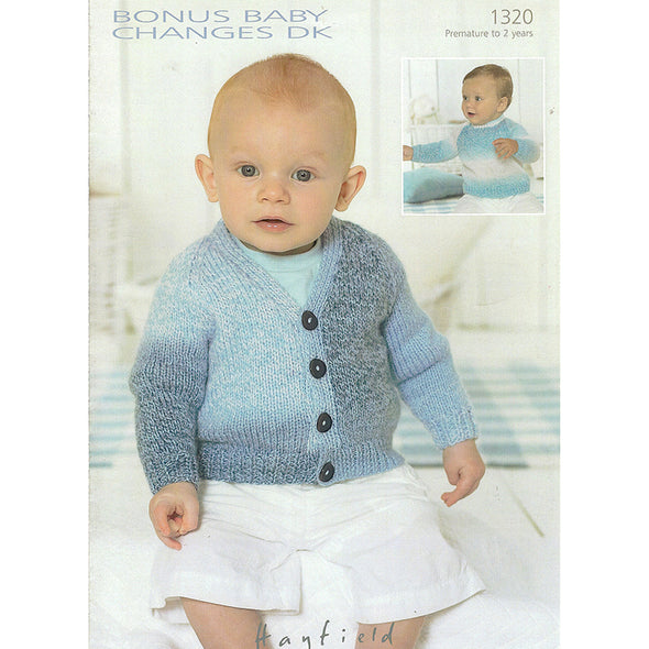 HAYFIELD 1320 Sweater Cardigan Baby Changes