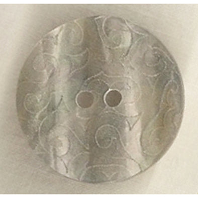 Button 300665 Grey Swirl 23mm