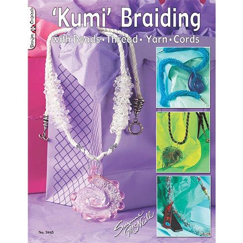 Bead Necklaces Braided On Kumihimo Accent