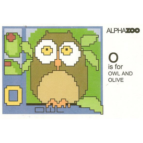 ABDAZO O is for Owl and Olive
