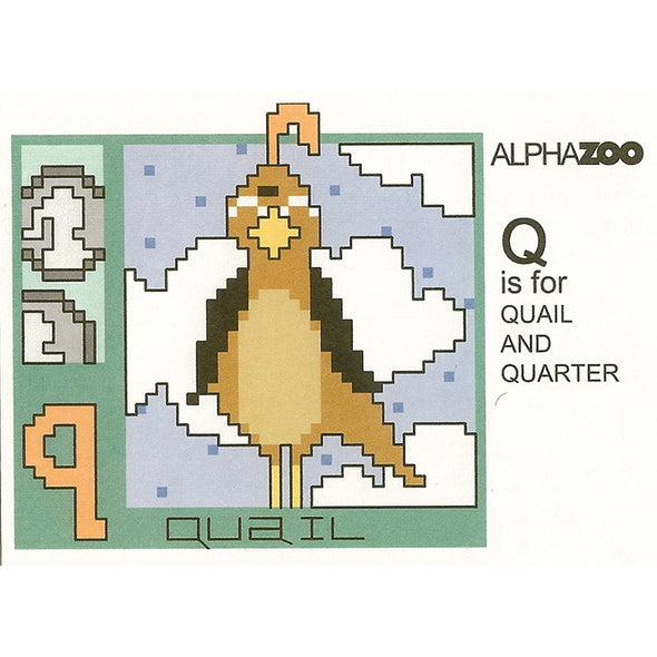ABDAZQ Q is for Quail Quarter