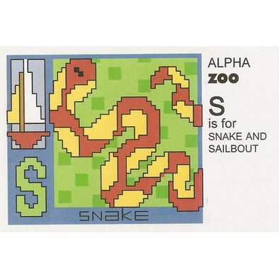 ABDAZS S is for Snake and Sailboat