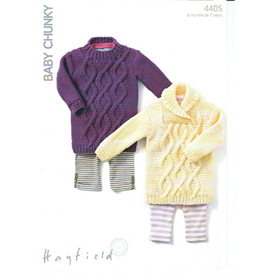 HAYFIELD 4405 Baby Chunky Sweater
