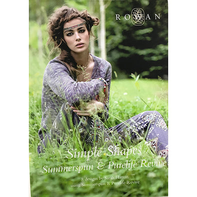 ROWAN Simple Shapes Summerspun and Purelife Revive ZB147