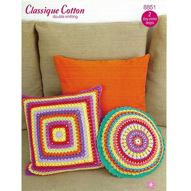 Stylecraft 8851 Pillows