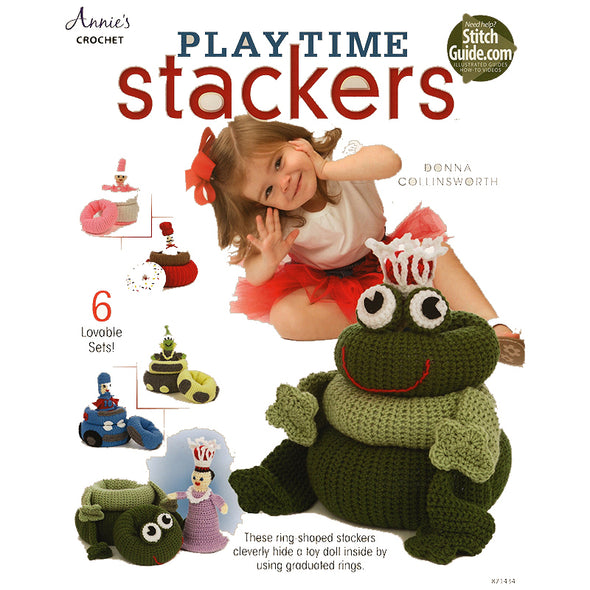 ANNIE'S 871434 Playtime Stackers