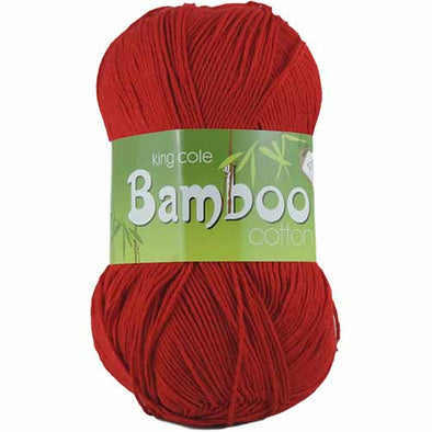 Bamboo Cotton 1647 Poppy