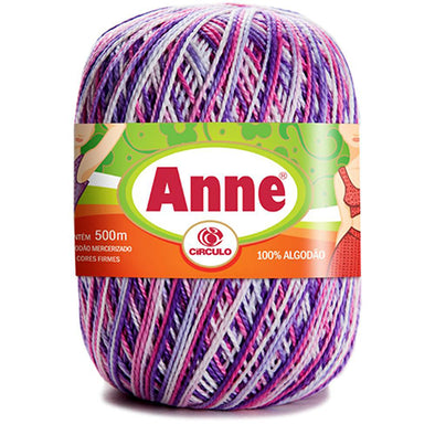Anne 9954 Purple/Pin Verigated