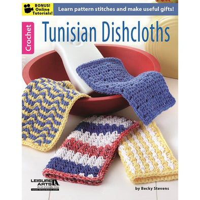 LA6371 Tunisian Dishcloth