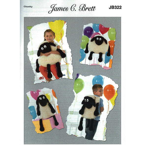 JB322 Sheep cushion /backpack