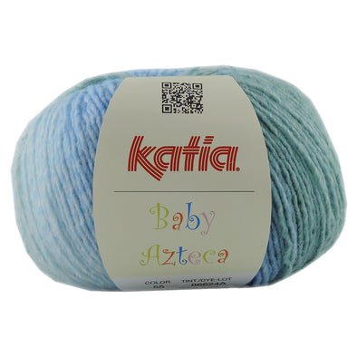 Baby Azteca 55 Blue and Green