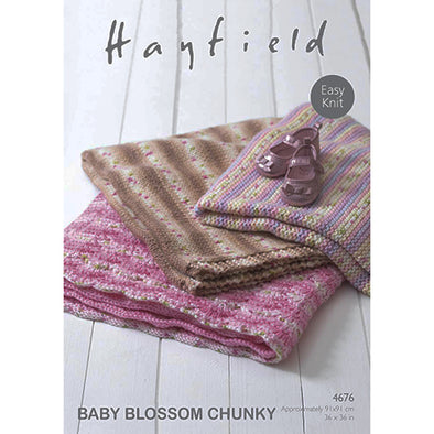 HAY4676 Baby Blossom C Blanket