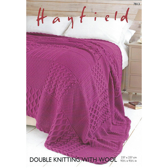 HAYFIELD 7813 DK with Wool  Blanket