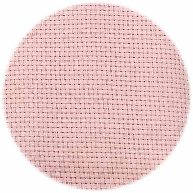Monks Cloth 7ct Light Pink